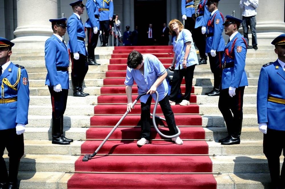 Izbori 2012, Narodna Skupstina Beograd , inauguracija novoizabranog predsednika Tomislava Nikolica