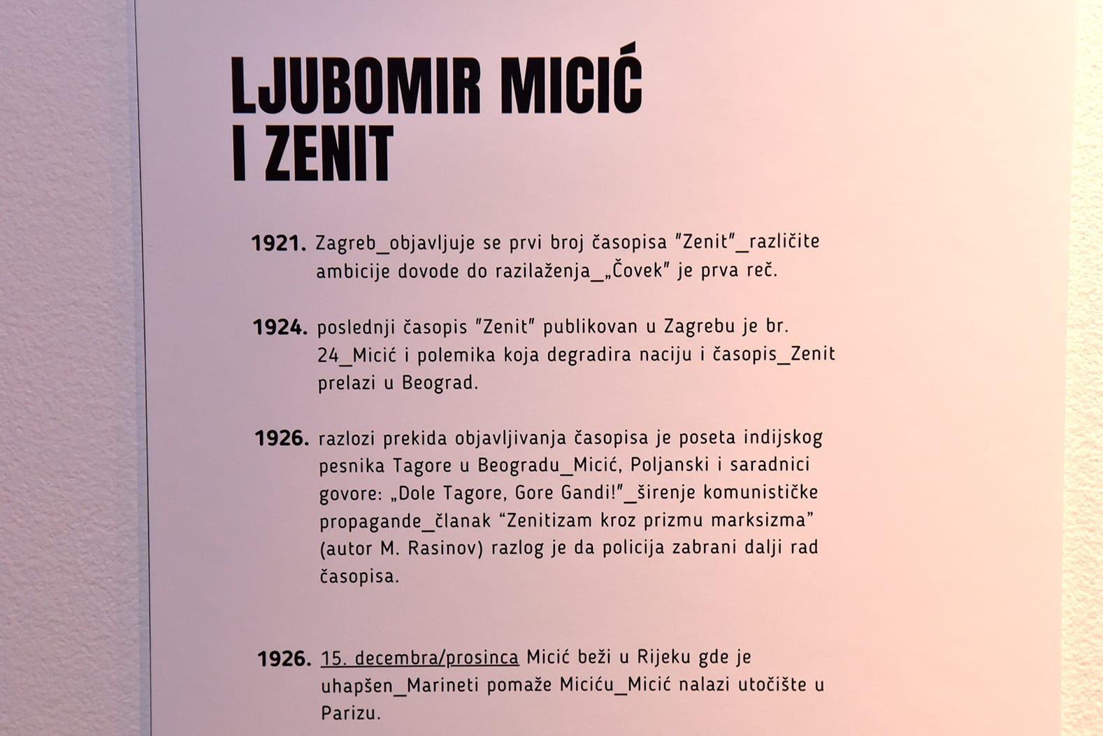 časopis Zenit