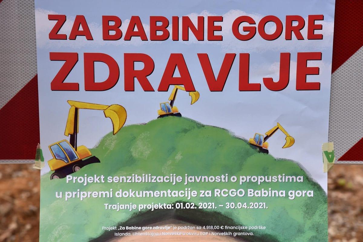 otpad na Babinoj gori